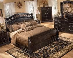 Ashley Furniture Sleigh Bed Esmarelda King Sleigh Bed  Pc - Ashley furniture bedroom sets king