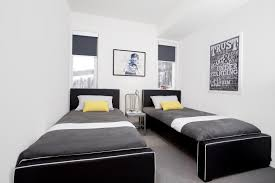 how to create a modern bedroom for siblings to share