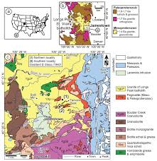 A Map Of Colorado by Age Petrochemistry And Origin Of A Ree Rich Mineralization In