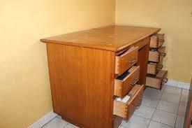 bureau bois massif occasion bureau ancien en bois bureau ancien en bois a tiroirs occasion