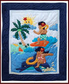 Surfer Crib Bedding Hawaiian Baby Blankets Click Here To See All