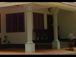 pillar designs for home interiors kerala house design work in car porch