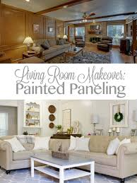 living room makeover painted paneling sense u0026 serendipity