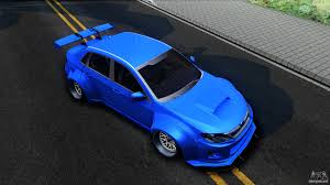 widebody subaru impreza hatchback subaru wrx sti widebody for gta san andreas