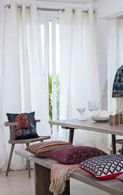 living room wooden dark living room furniture boho window