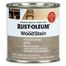 Shop Exterior Stains At Lowes Com by Shop Rust Oleum Ultimate Weathered Grey Interior Stain Actual Net