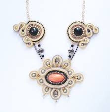 vintage glass crystal necklace images Wanderer soutache necklace pure bliss jewelry accessories jpg