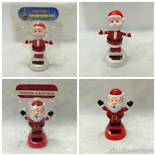 solar dancing santa claus solar toys for car decoration