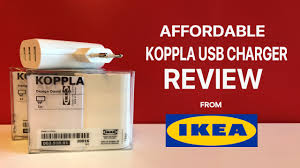 koppla the 3 port usb charger from ikea worth it youtube