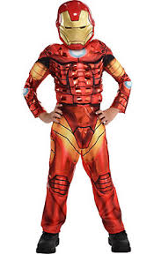 Iron Man Halloween Costume Toddler Boys Superhero Costumes Party