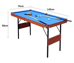 How To Play Pool Table Hlc 55 U2033 Folding Space Saver Pool Billiard Table Review U2013 The