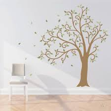 cherry blossom tree wall decal this wall decal features hundreds blowing tree wall decals wwwgalleryhipcom the hippest pics