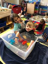 water table for 5 year old woodcliff 5 year old preschool 2 23 classroom update
