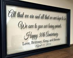 gifts for 50th wedding anniversary 50th anniversary gifts etsy