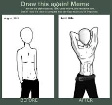 Slenderman Memes - draw this again meme shirtless slenderman by greyneart on deviantart