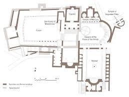 Sanctuary Floor Plans by File Plan Forum Dougga En Svg Wikimedia Commons
