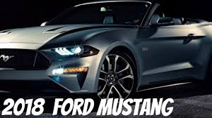 2018 ford mustang gt convertible youtube
