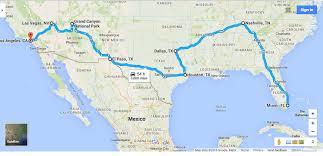 Usa Map Image Usa Road Trip Map Aa Ryan Phoenix