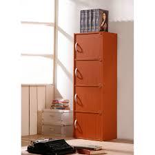 hodedah 4 door cabinet hodedah 4 door cabinet hid4 finish black ebay