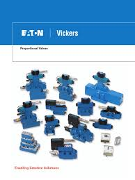 v vlpo mr002 e proportional valves eaton vickers vacuum tube