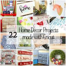 home décor on the cheap with cricut seven alive