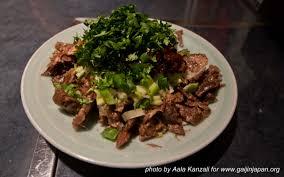 chien cuisiné au japon aussi on mange de la viande de chien un gaijin au japon