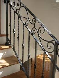 how to replace wood stair spindles or balusters with wrought iron