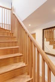 Richard Burbidge Banisters Closed American White Oak Staircase With Curtail Bullnose And