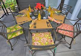 Patio Furniture Seat Cushions Patio Sitting Pretty Chair Cushions Sew4home