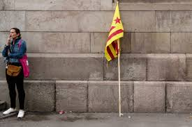Flag Of Catalonia Nasty Side Of Catalan Question Deepens Rift Between U0027two Spains