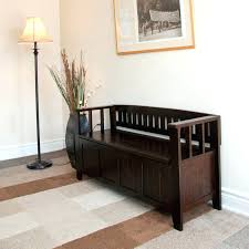 Storage Bench With Cushion Entry Furniture Storage Entryway Shoe Bench Diy Ideas Lawratchet Com