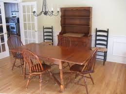 unique heywood wakefield dining room table 70 with additional
