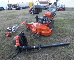 husqvarna w448 mower vanguard handhelds fleet deal sle equipment
