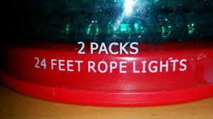 rope lights green 48 2 24 indoor outdoor veteran
