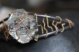 wrap cuff bracelet images Herkimer diamond gold wrap cuff bracelet annick designs jpg