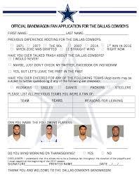 dallas cowboys create bandwagon fan application for playoffs