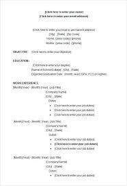 exle student resumes resume free student resume templates microsoft word