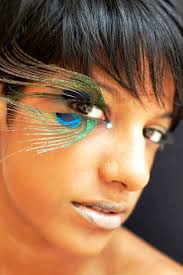 halloween eyelashes 25 pretty peacock halloween makeup ideas