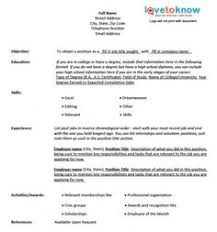 free chronological resume template microsoft word chronological resume template microsoft word google search
