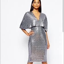 beautiful new years dresses gunmetal silver sequin cape dress silver sequin pencil skirts