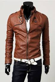 brown leather motorcycle jacket mens leather motorcycle jackets coat nj