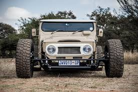 african jeep south african tuning firm creates ultimate land cruiser fj40
