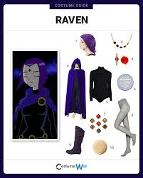 best 25 teen titans raven costume ideas on pinterest raven teen