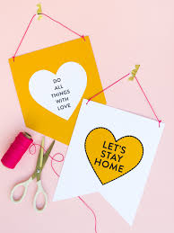 printable valentine u0027s day banners sarah hearts