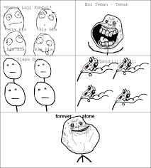 Meme Rage Indonesia - fa forever alone meme rage comic indonesia
