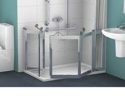 Disabled Half Height Shower Doors Contour Showers Uk Specialists In Disabled Showers Falcon Low