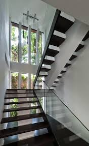 Glass Staircase Design Creative And Modern Glass Staircase Designs With Nice Glass