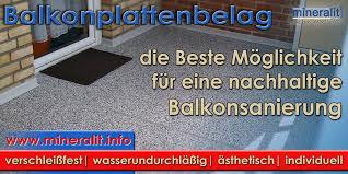 balkon sanierung balkonbelag hochwertige balkonsanierung mit mineralit
