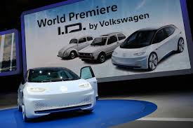 volkswagen electric concept paris 2016 volkswagen i d electric concept car gtspirit