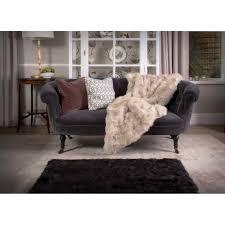 Rug Black Black Shearling Sheepskin Rug Sizeoptions